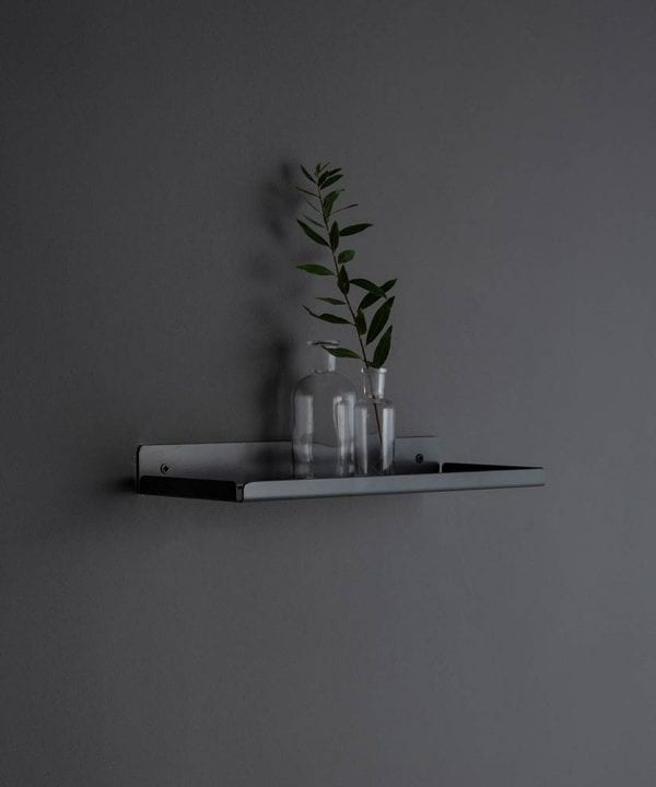 Earl Grey Metal Wall Shelves