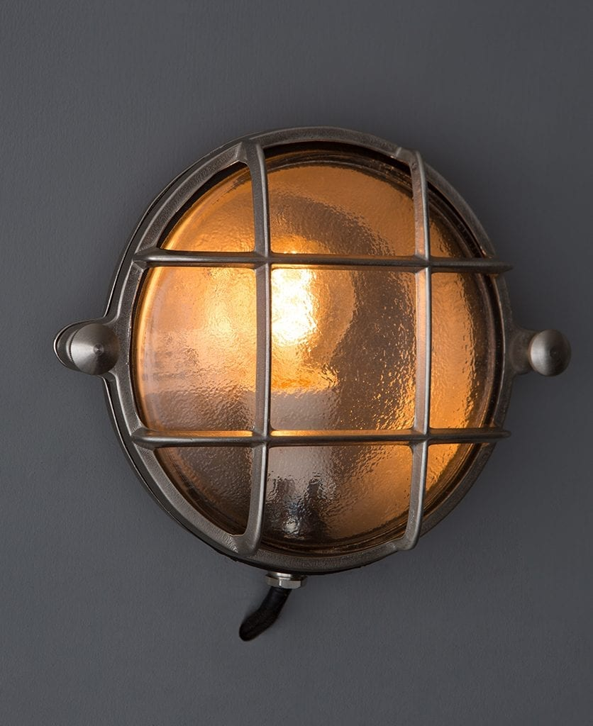 Mark Silver Bulkhead Light