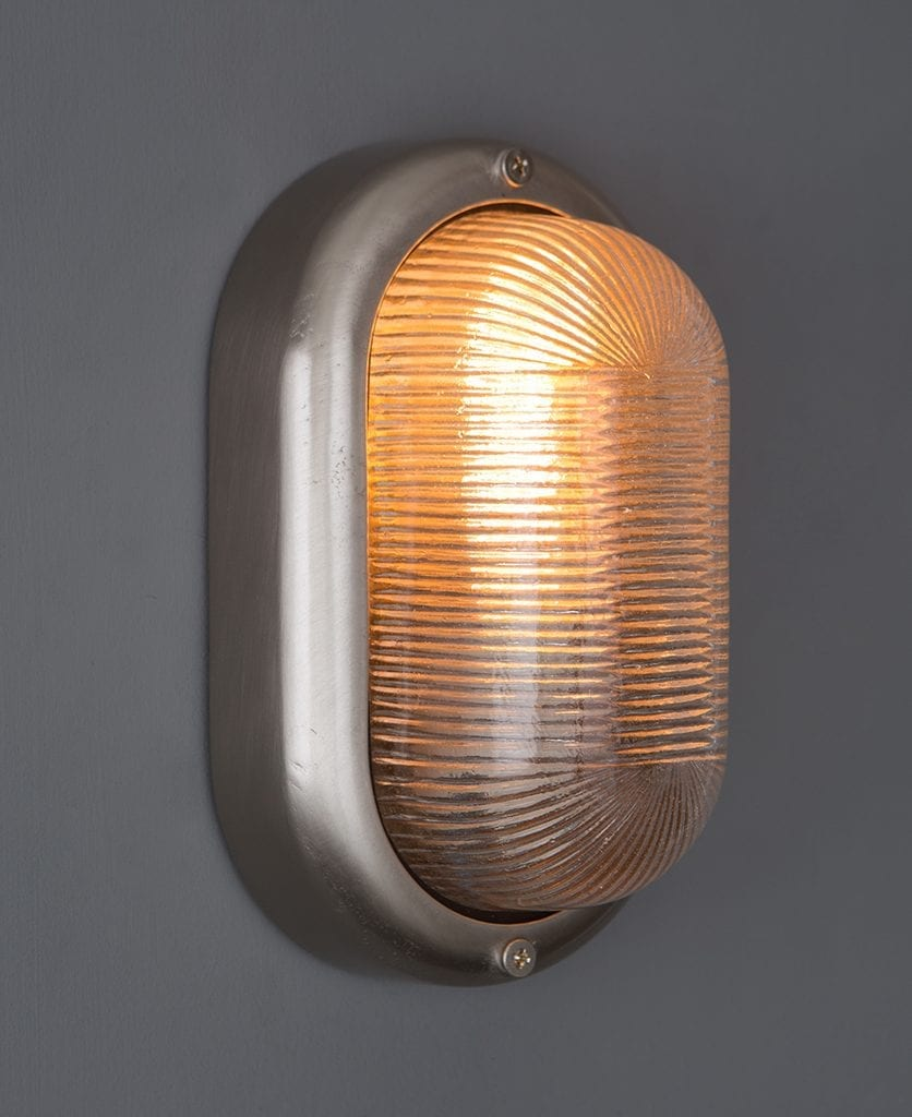 Mike Silver Bulkhead Light