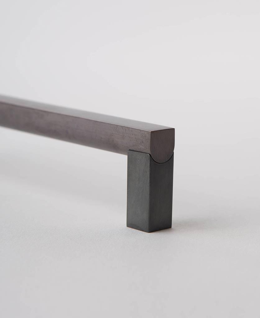 Taipei metal square handle