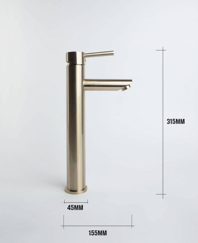 Inga bathroom tap dimensions