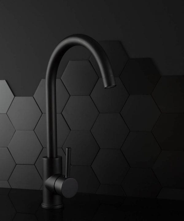 Black Tinkisso kitchen tap
