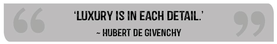 quote by hubert de givency
