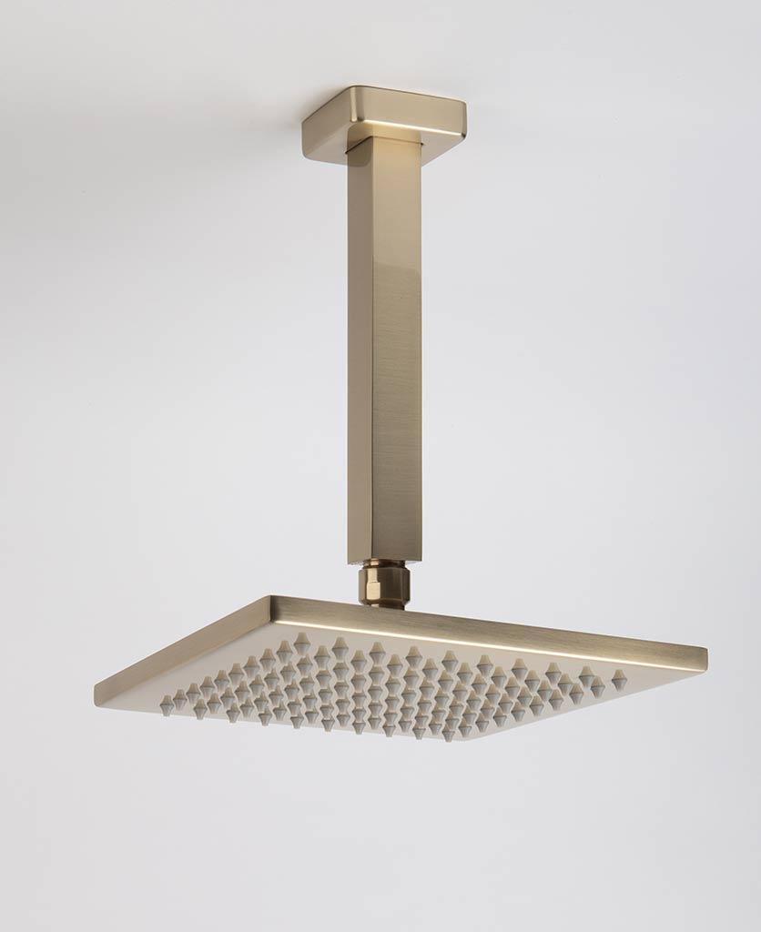 Hannoki gold shower ceiling bar