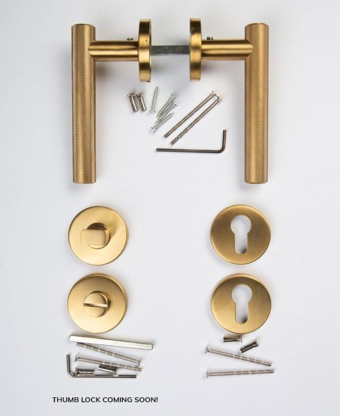 Hirst door handle components