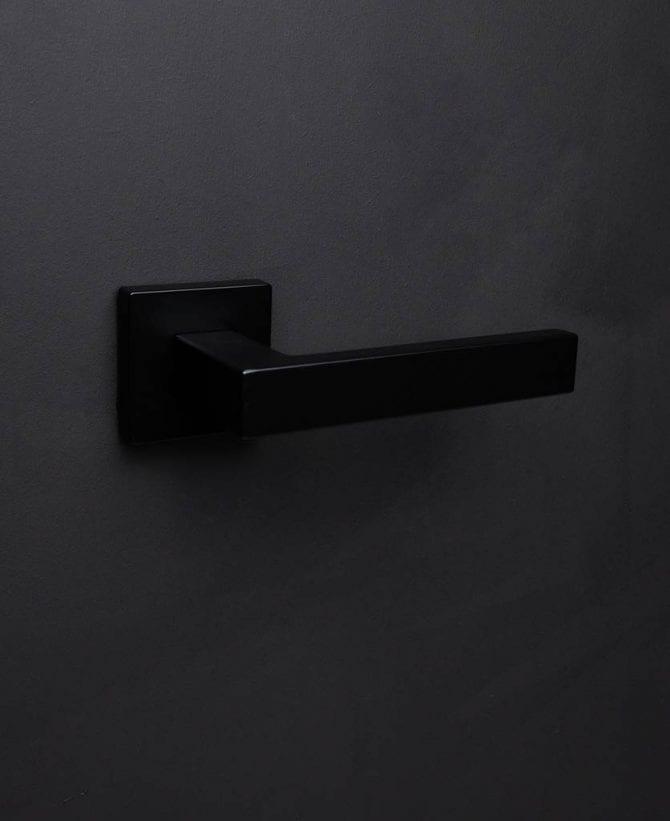 Hockney door handle black