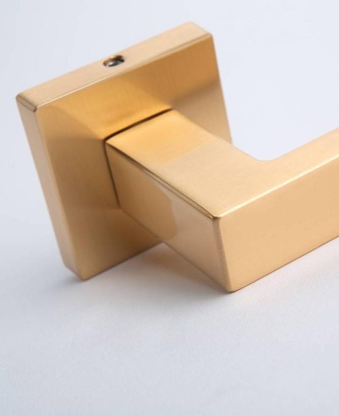 Hockney gold door handle