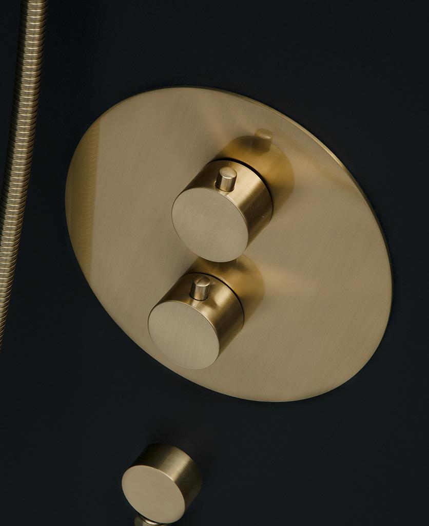 havasu shower gold closeup