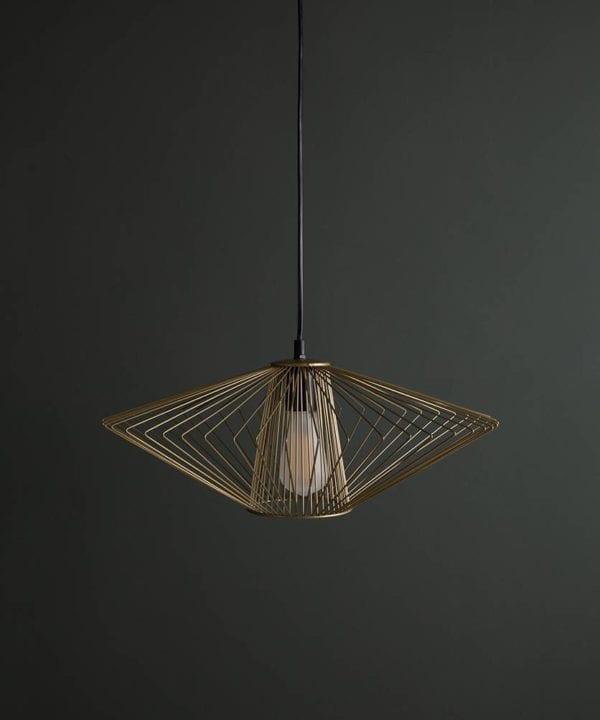Navasana Pendant Light Off