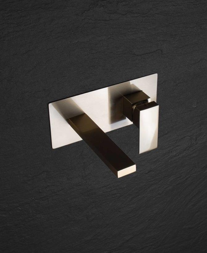 Yuntai gold taps - wall mounted
