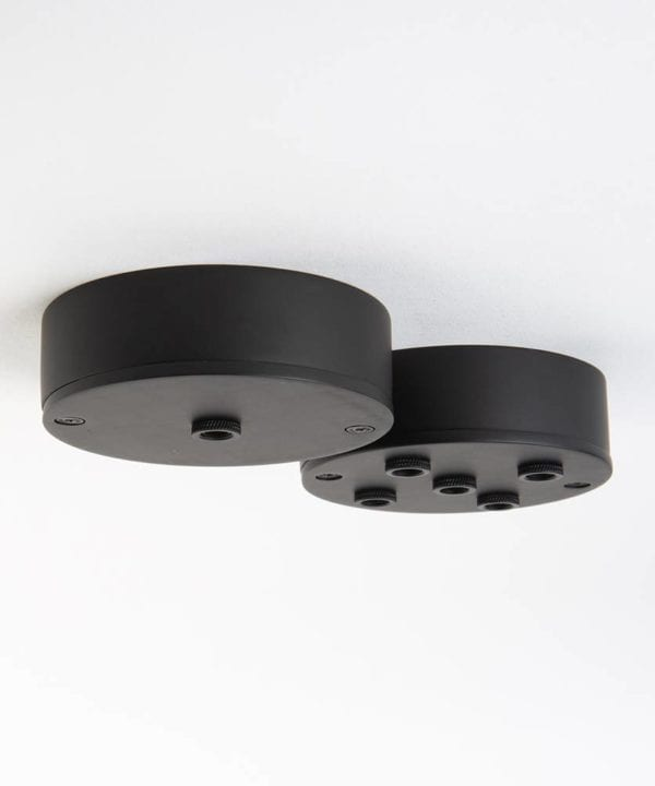 Black Ceiling Rose