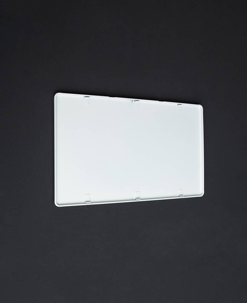White double blank fascia