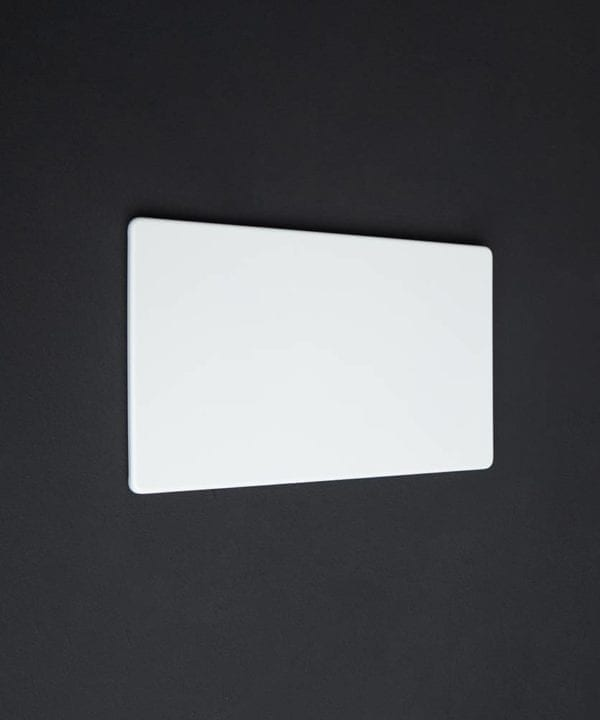 White double blank fascia