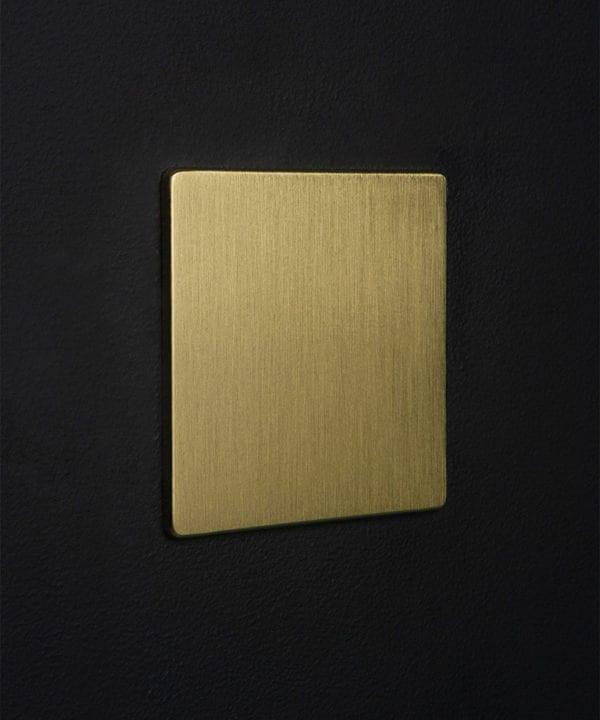 gold single blank fascia
