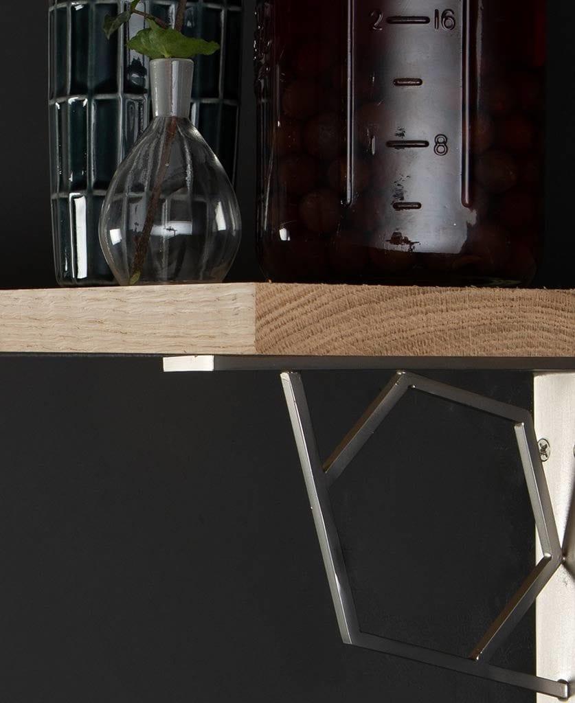 Small Marlene Oak Shelf Close Up