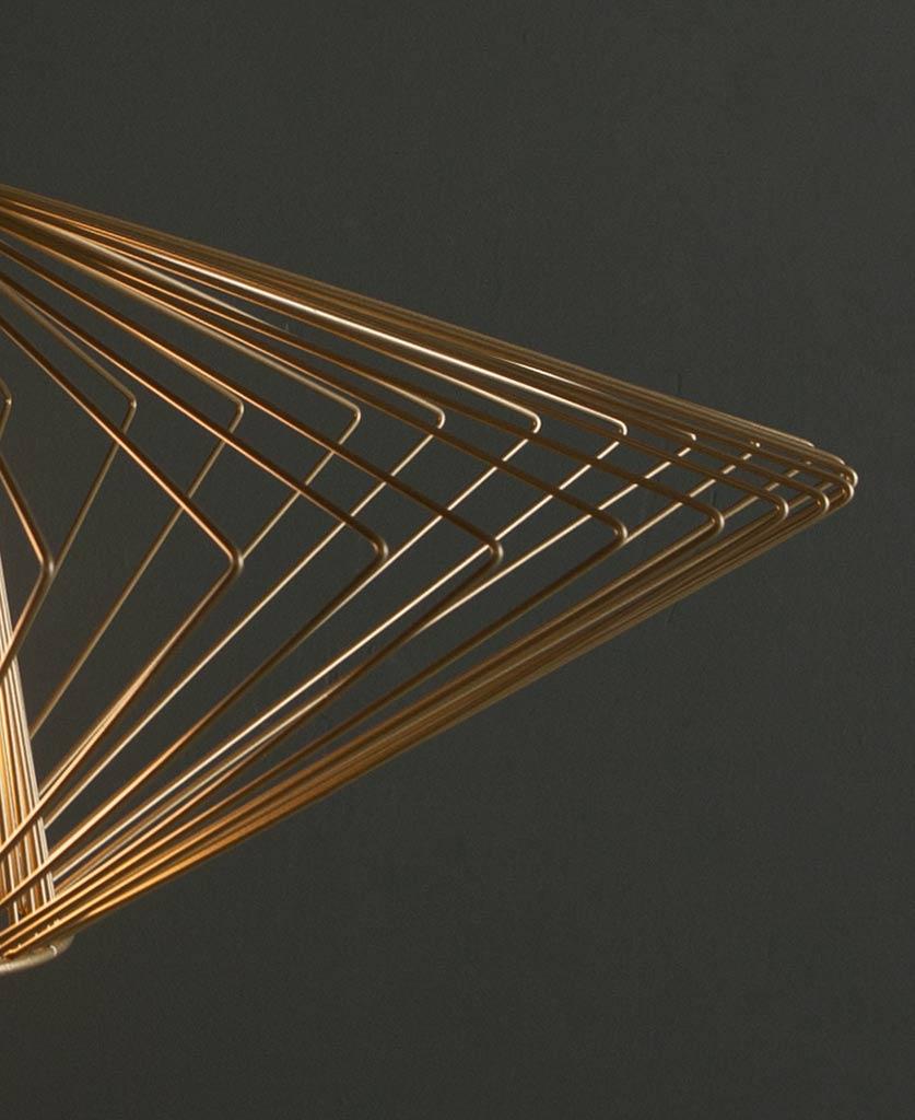 Navasana Gold Pendant Light