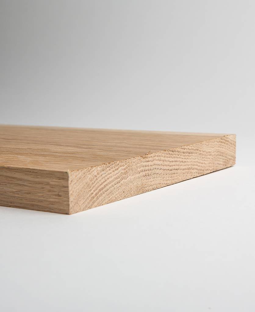 Oak Shelf Close Up