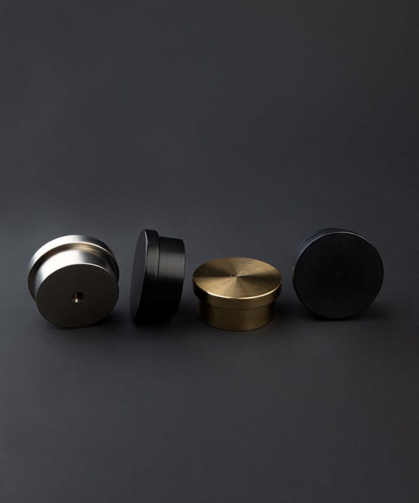 round metal drawer knobs
