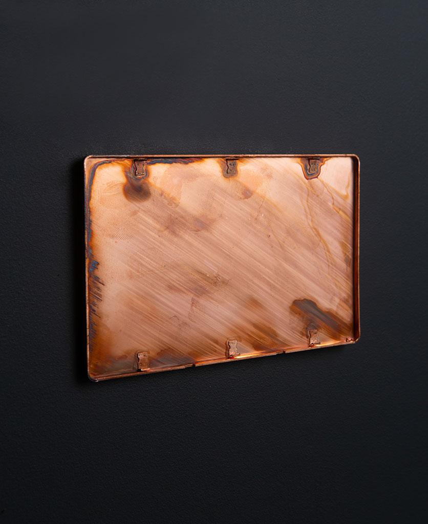 Copper Double Blank Fascia