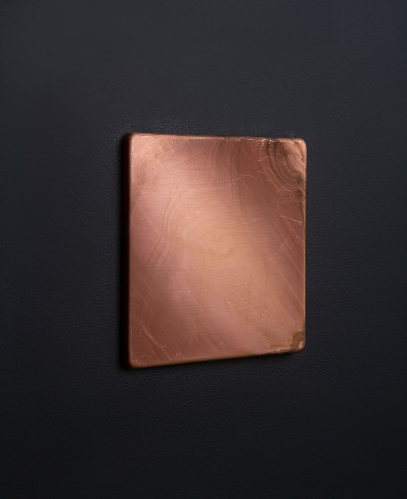 Copper Single Blank Fascia