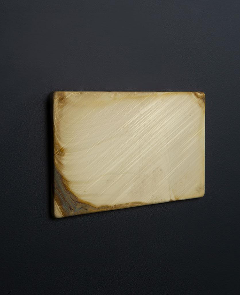 Smoked Gold Double Blank Fascia