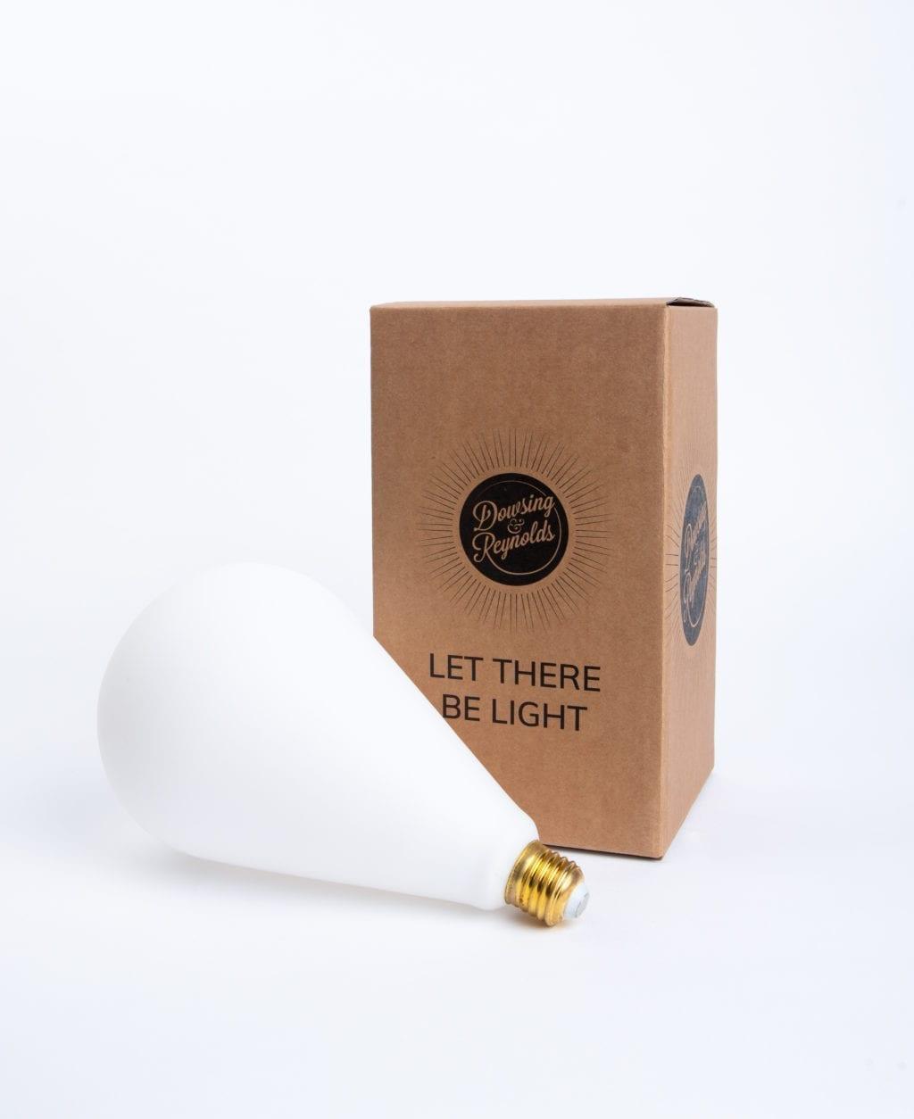 celestia opal bulb with cardboard box on white background