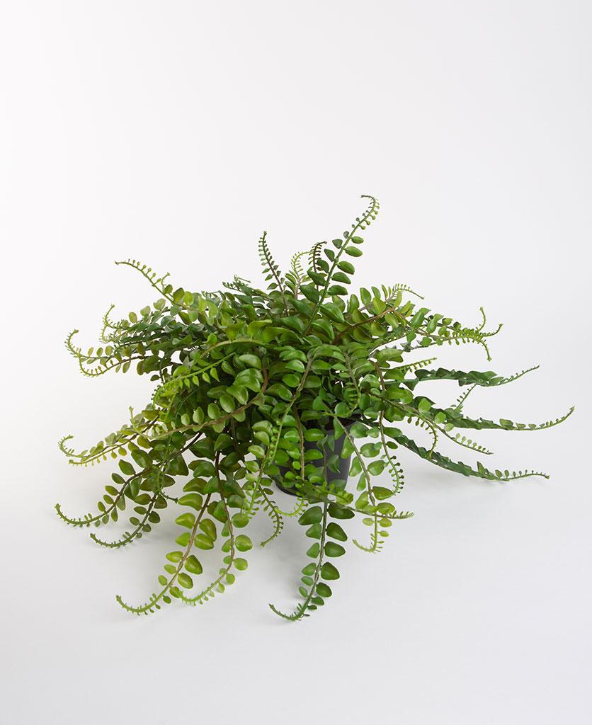 MID LEAF FERN artificial indoor plant