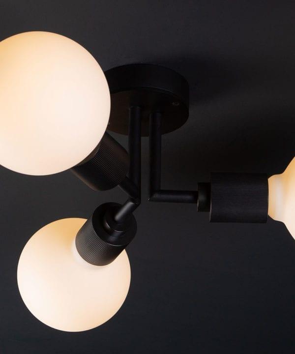 Black Hoxton Ceiling Light