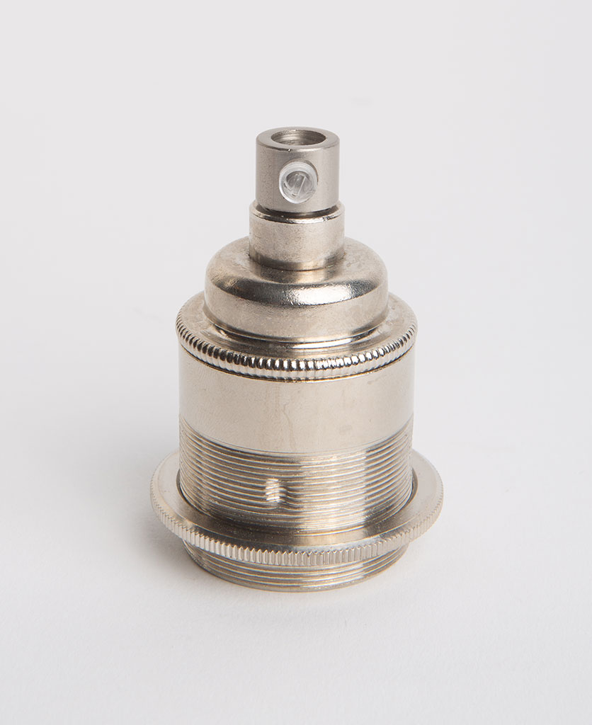 nickel threaded e27 bulb holder