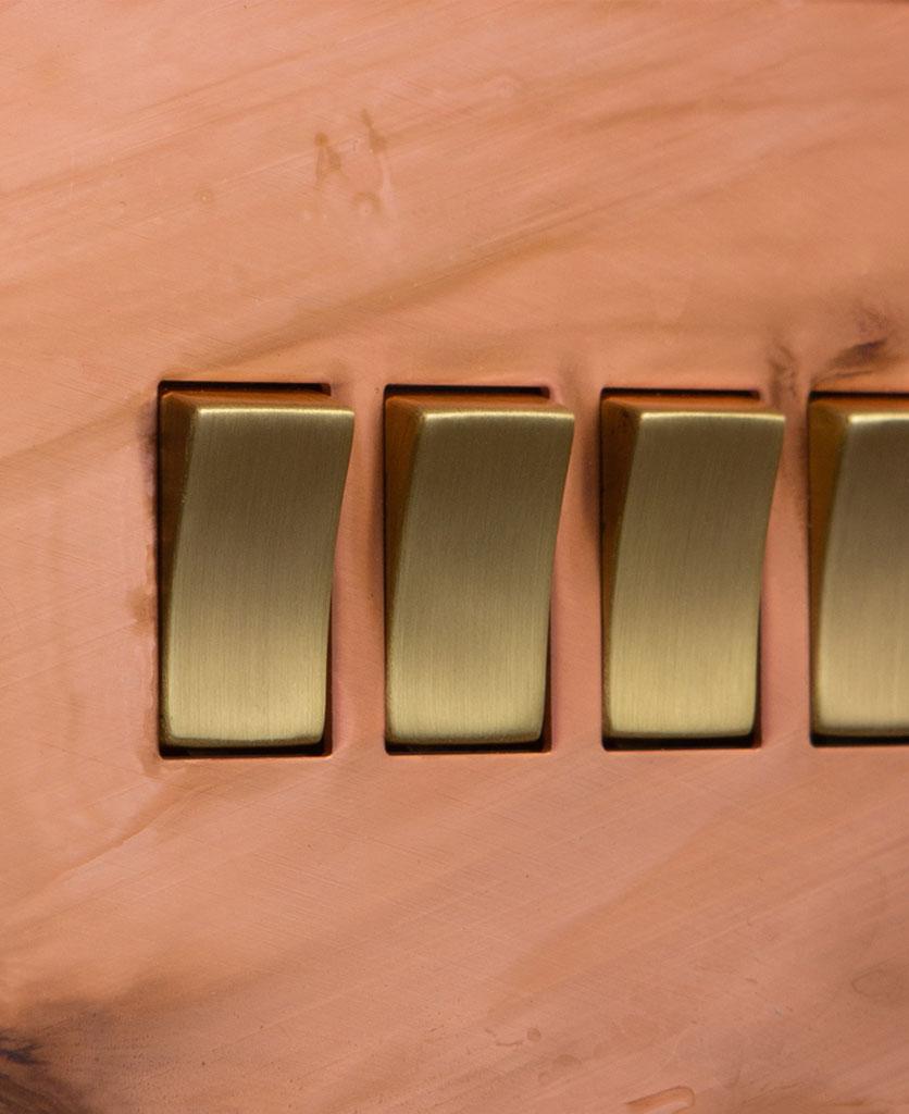 Copper & gold