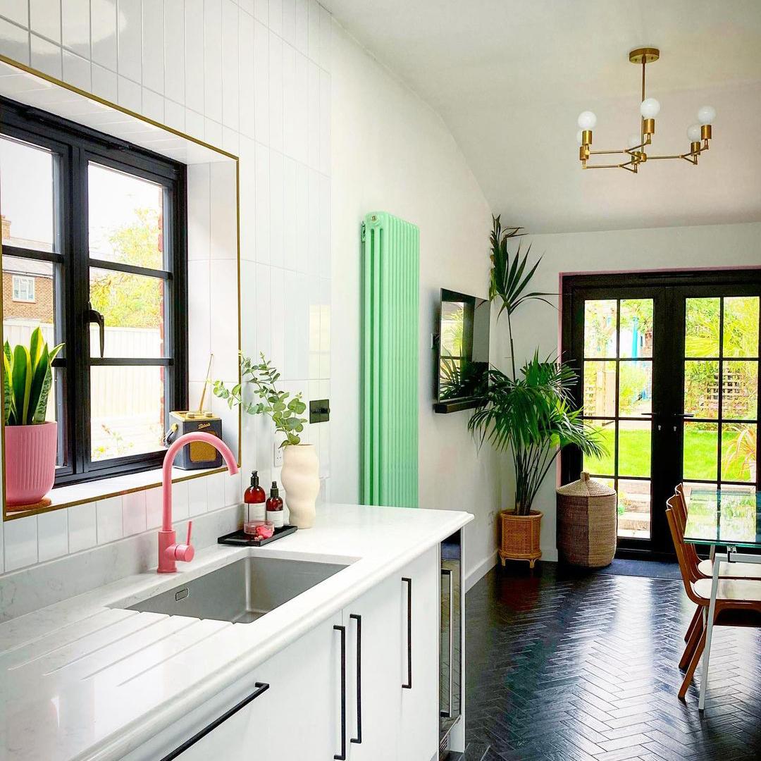 Tinkasso colour pop kitchen tap