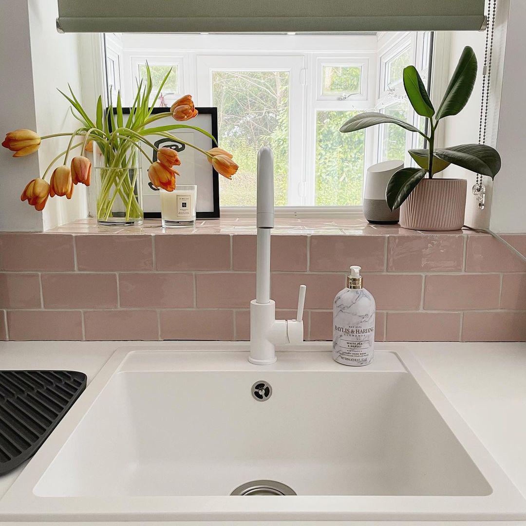 TINKISSO colour pop contemporary kitchen tap