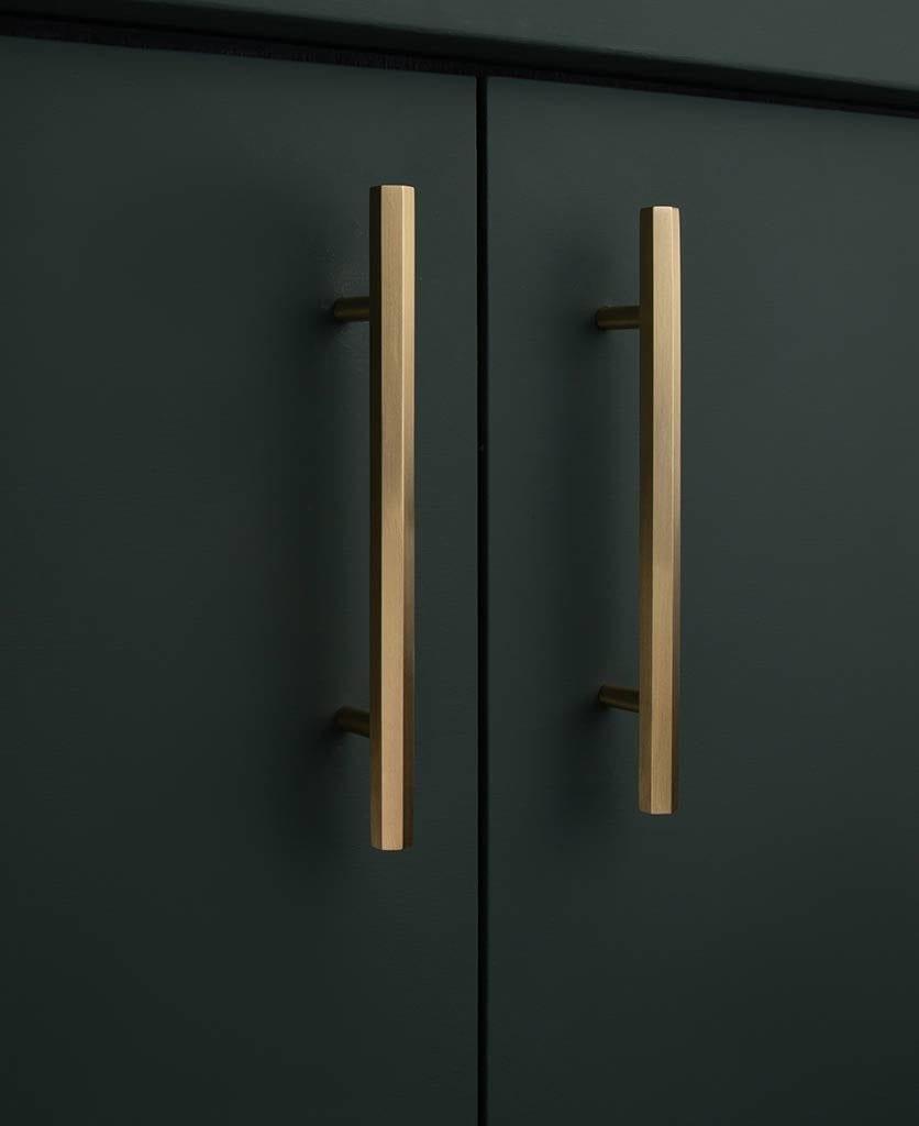 brass kitchen door handle hive