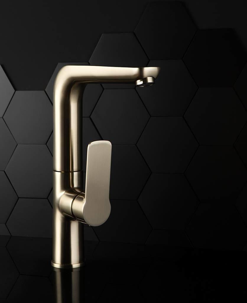 brass kitchen tap mandraka