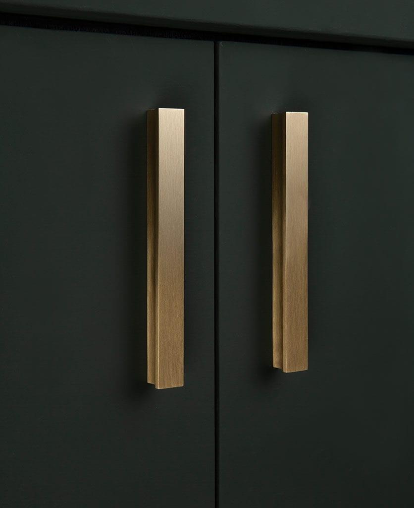 brass kitchen door handle tau