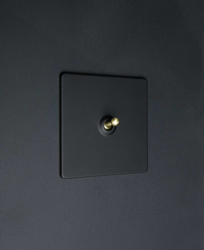 black and gold single toggle