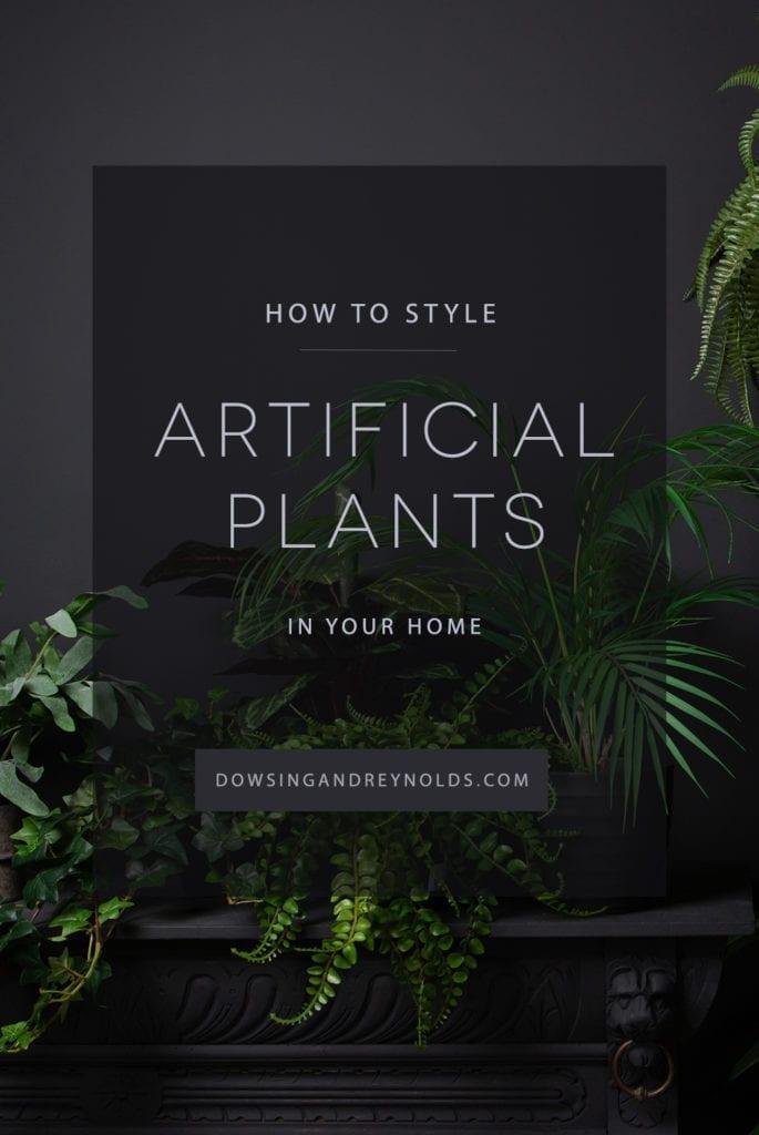 dowsing reynolds faux plant blog post