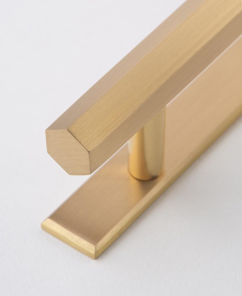 hive brass closeup