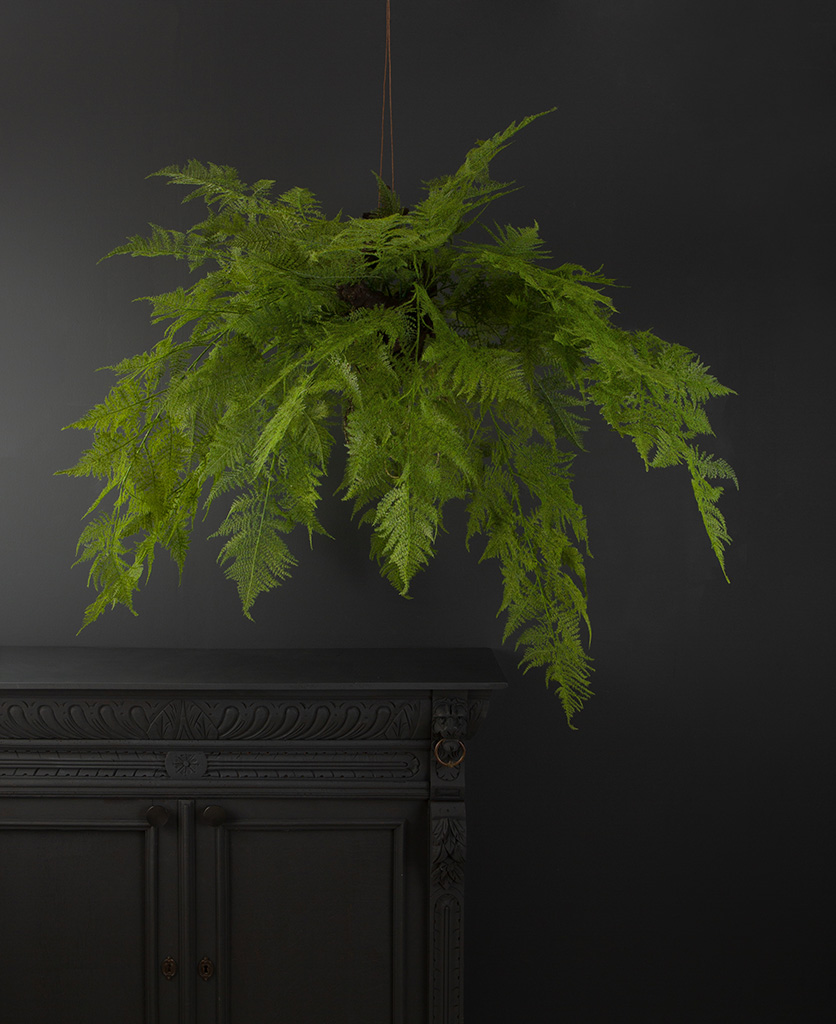 Artificial Fern Large Super Sized Hanging Fern Plant