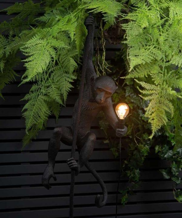 Marcel outdoor monkey wall light