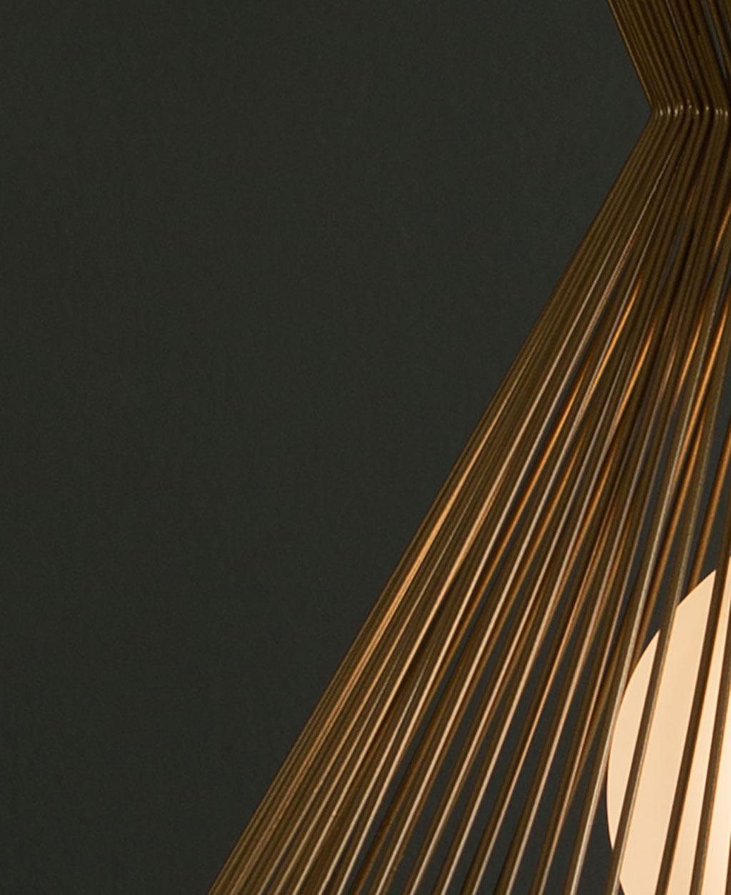 tadasana pendant light close up