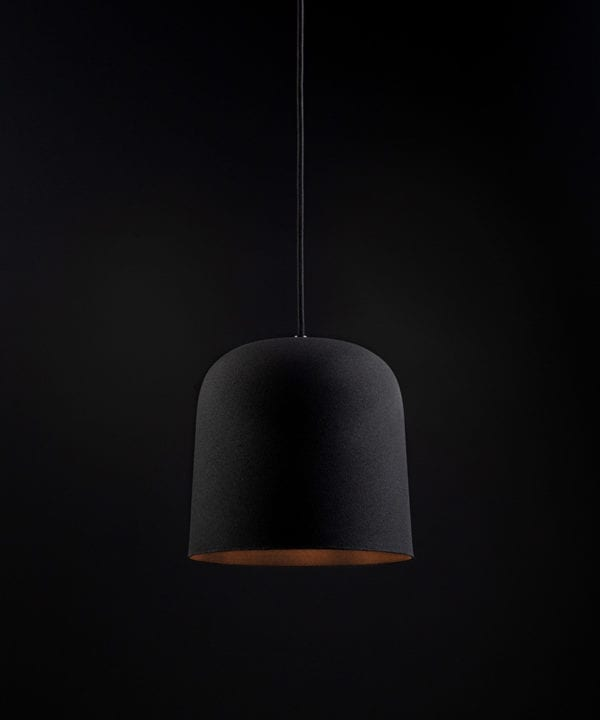 Black visby ceiling pendant