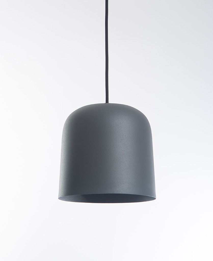 Grey visby ceiling pendant