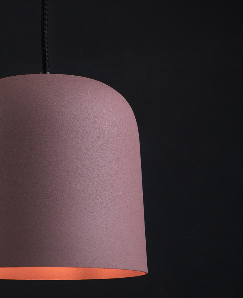 Pink visby ceiling pendant
