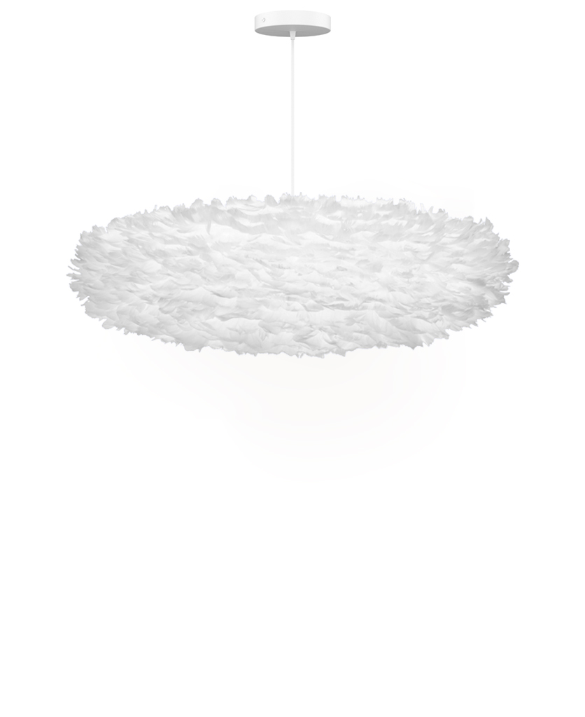 esther ceiling lampshade large against white background