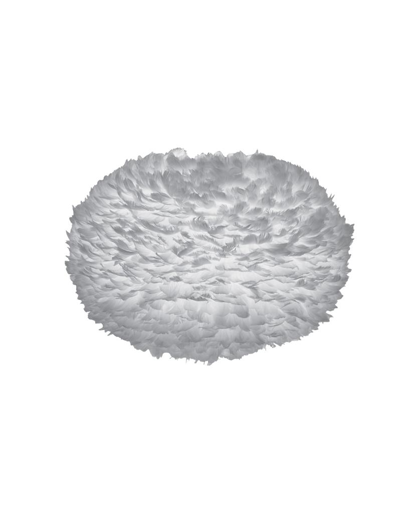 umage grey large light shade on white against white background