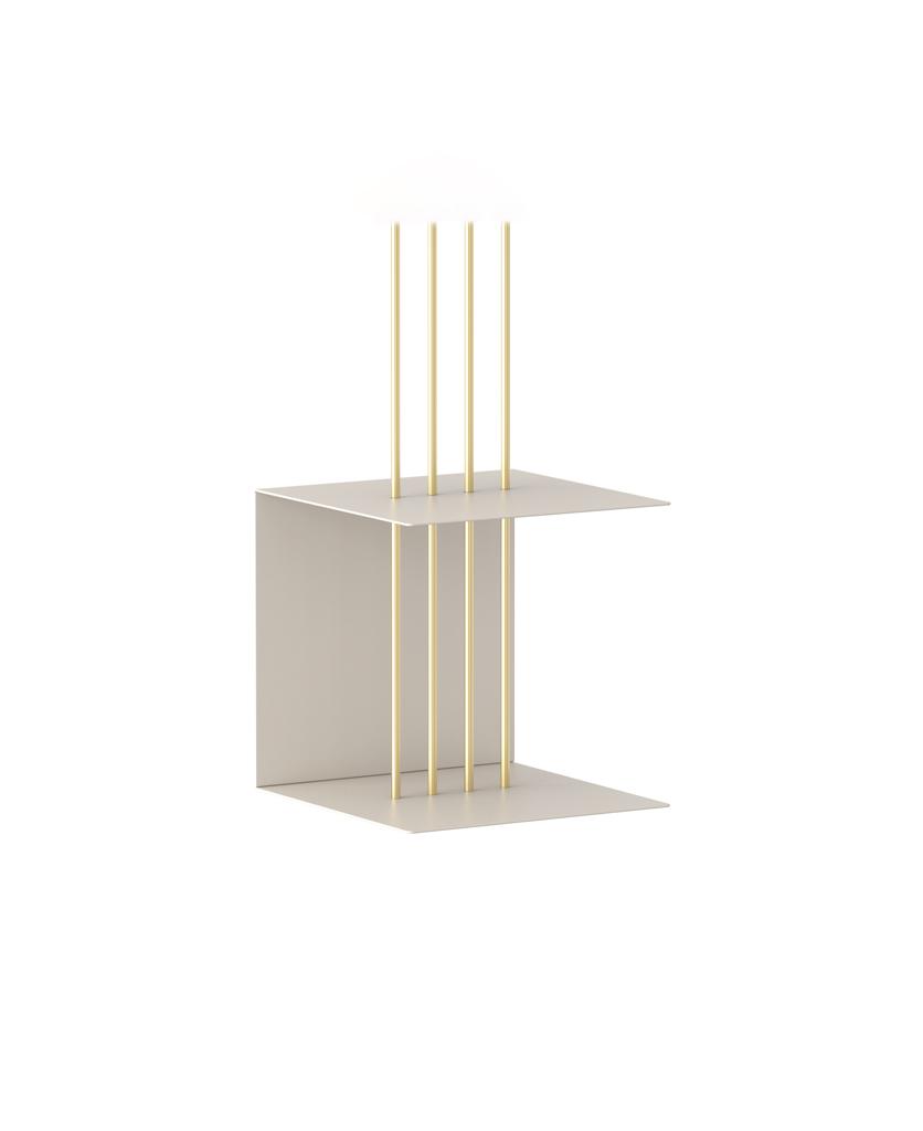 single layer umage teaser shelf white