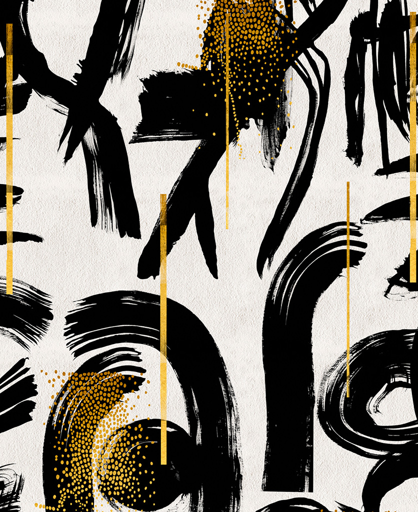 gestural abstractions wallpaper close up