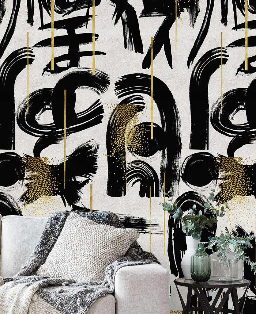 gestural abstractions wallpaper