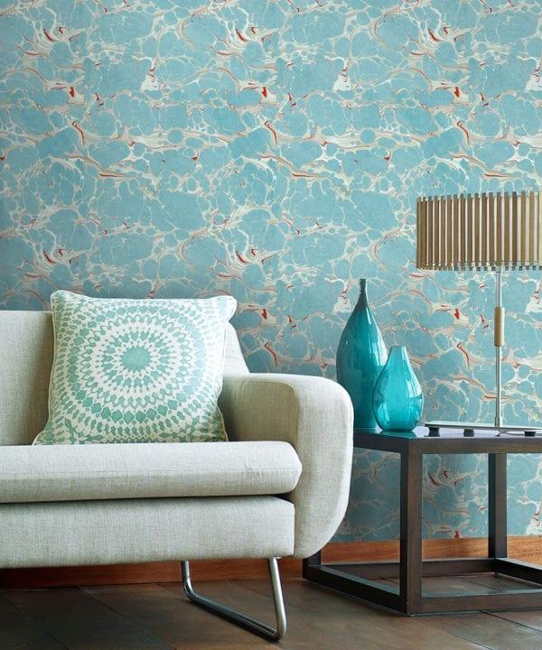 marbled topaz wallpaper